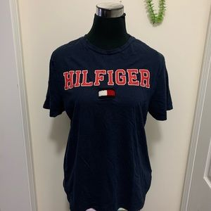 Tommy Hilfiger Rare Vintage Spell-Out Tee Shirt